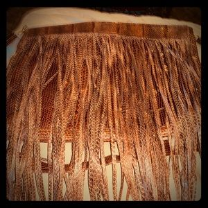 Really cute fringe purse